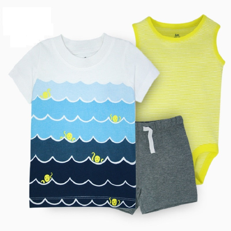 2020 summer baby boy clothes