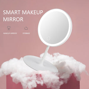 LED makeup mirror with led light vanity mirror make up mirrors with lights standing mirror led touch screen cosmetic mirrors led