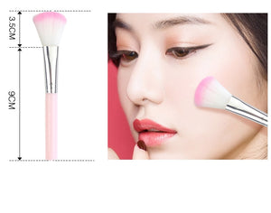 5pcs/set Makeup Brush Foundation Powder Blush Eyeshadow Concealer Lip Eye Make Up Brush Cosmetics Beauty Tools