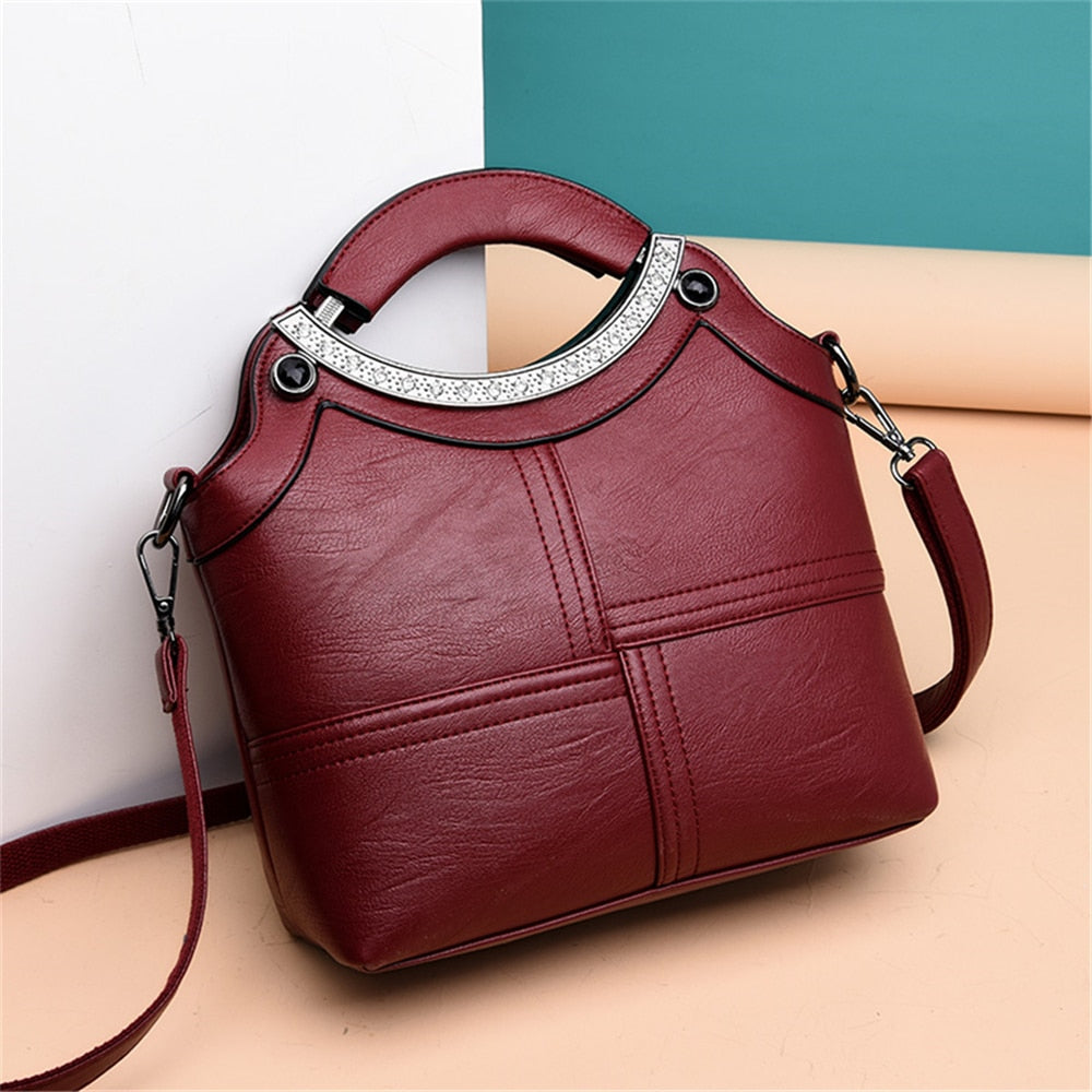 Small Ladies Hand bags Leather Luxury Handbags Women Bags Designer Women Shoulder Crossbody Bags For Women 2019 Sac A Main Bolsa