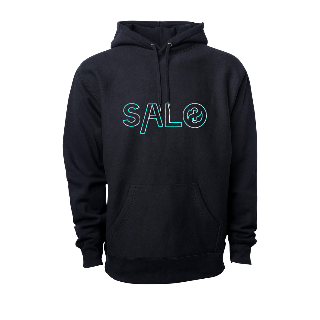 HOLLOWED OUT BLUE MATTER HOODIE
