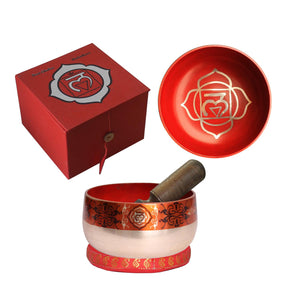 "Tibetan Singing Bowl - Set ""Base Chakra"""