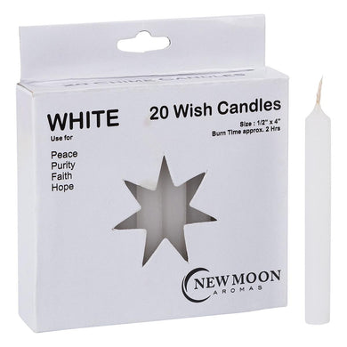 NEW MOON AROMAS - WHITE WISH CANDLES