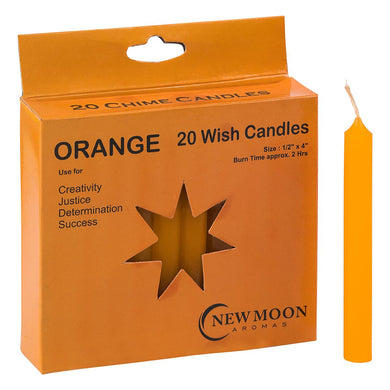 NEW MOON AROMAS - ORANGE WISH CANDLES