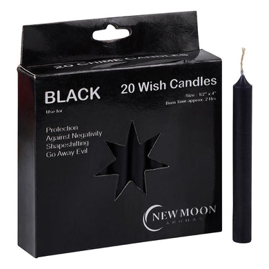 NEW MOON AROMAS - BLACK WISH CANDLES