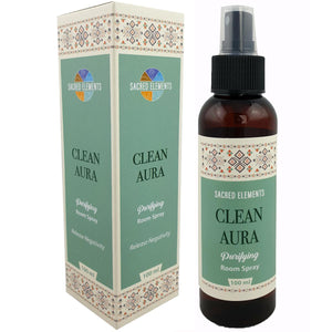 SACRED ELEMENTS - CLEAN AURA PURIFYING ROOM SPRAY