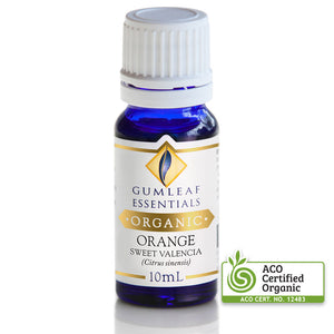 GUMLEAF ORGANIC ORANGE ESSENTIAL OIL
