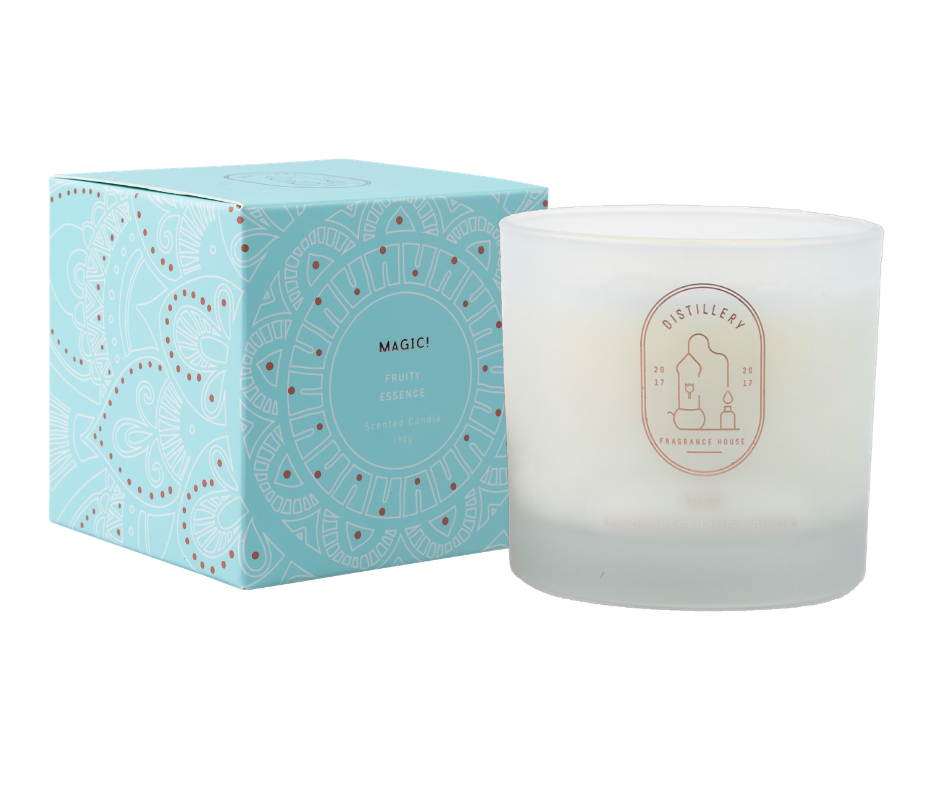 DISTILLERY SOY CANDLE - FRUITY ESSENCE