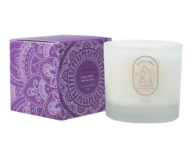 DISTILLERY SOY CANDLE - BLACK HONEY NECTAR & TEA