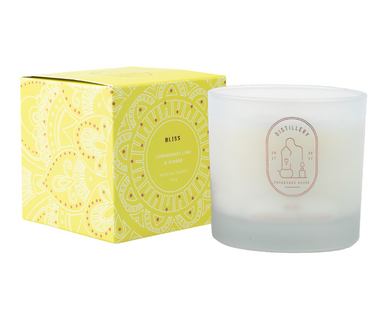 DISTILLERY SOY CANDLE - LEMONGRASS LIME & GINGER