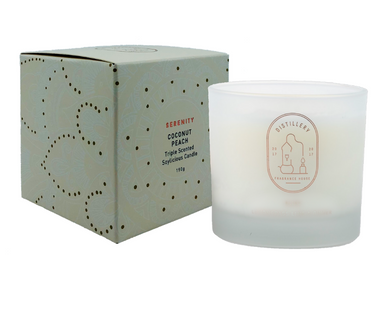 DISTILLERY SOY CANDLE - COCONUT PEACH