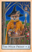 Load image into Gallery viewer, Tarot Cards - Bohemian Animal Tarot, The