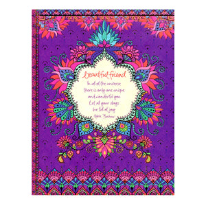 "Journal - Adele Basheer ""Beautiful Friend"" (A5 Size)"
