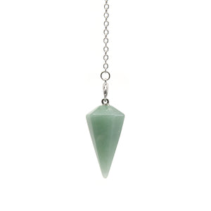 "Pendulum - ""Aventurine (Green)"" Faceted (S)"