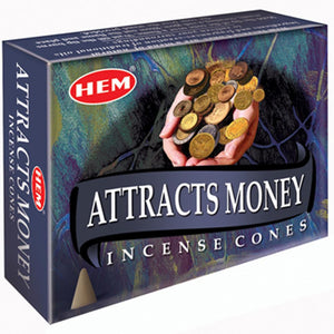 "Incense Cones - Hem ""Attracts Money"""
