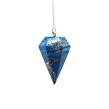 "Load image into Gallery viewer, Pendulum - ""Lapis Lazuli"" Faceted (S)"