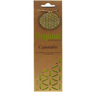 "Incense Cones - Organic ""Cannabis"""