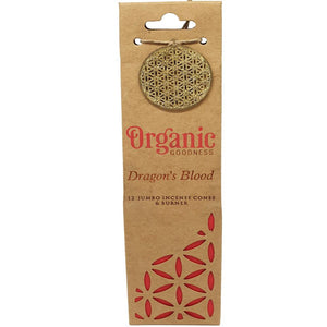 "Incense Cones - Organic ""Dragon's Blood"""