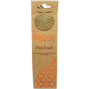 "Incense Cones - Organic ""Patchouli"""