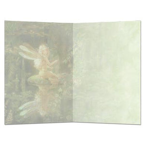 "Greeting Card - Tree Free ""Faery Reflection"""