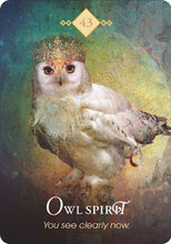 Load image into Gallery viewer, Oracle Cards - Spirit Animal Oracle, The