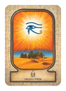 Oracle Cards - Auset Egpytian Oracle