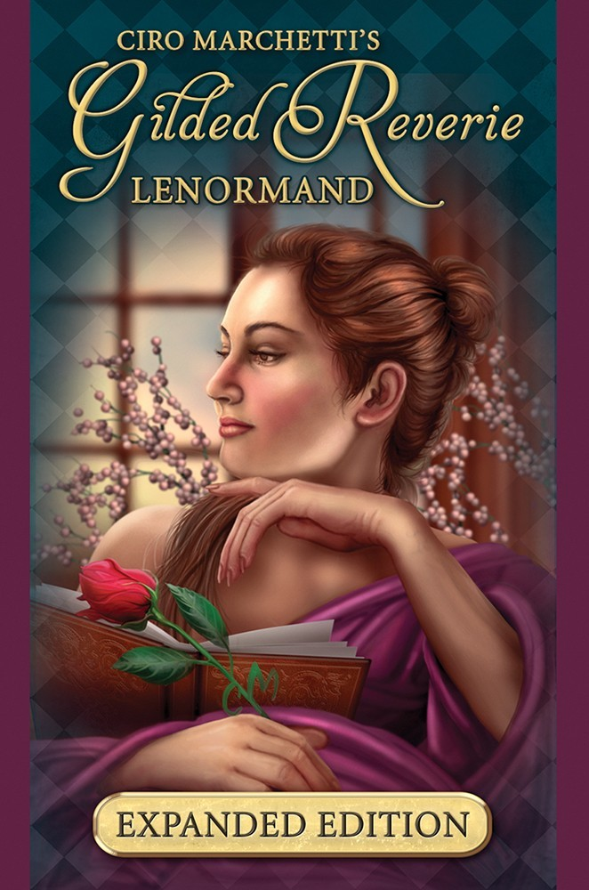 Lenormand Cards - Gilded Reverie (Expanded Edition)