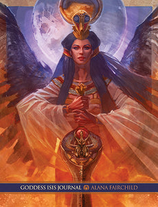 "Journal - Blue Angel ""Goddess Isis"""