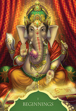 Load image into Gallery viewer, Oracle Cards - Whispers of Lord Ganesha Oracle