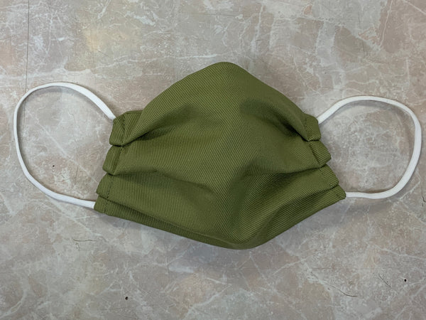 ADULT Fabric Face Cover - Army Green