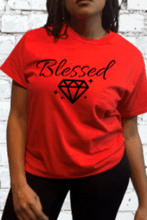 Load image into Gallery viewer, Blessed Diamond / T-shirt