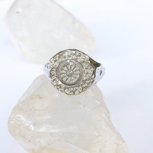 Maze ring- MADE TO ORDER