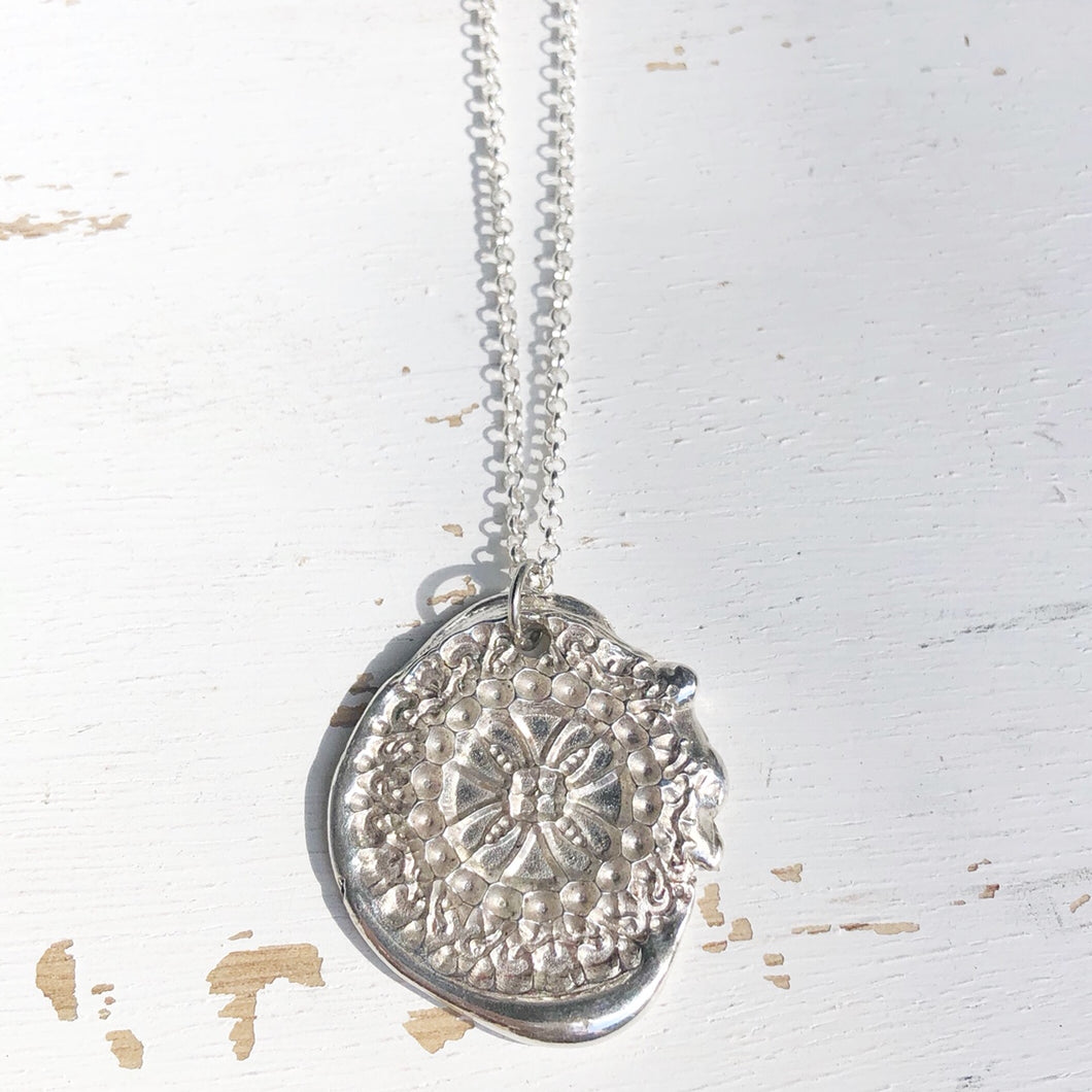 Ancient coin necklace- READY TO SHIP