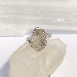 Natural stone ring- READY TO SHIP