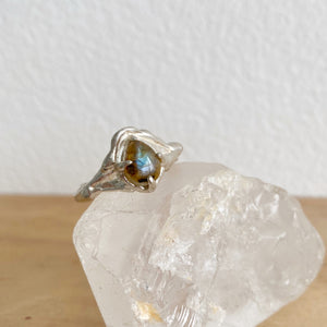 Labradorite galaxy ring 3- READY TO SHIP
