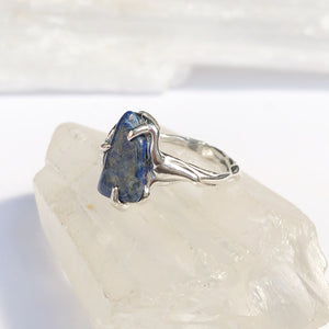 Blue twist ring- READY TO SHIP