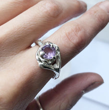 Load image into Gallery viewer, Amethyst ocean ring- READY TO SHIP
