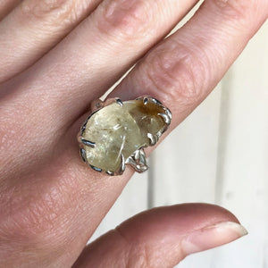 Citrine sky ring- MADE TO ORDER