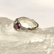 Load image into Gallery viewer, Garnet Ocean ring- READY TO SHIP