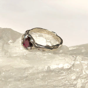 Garnet Ocean ring- READY TO SHIP