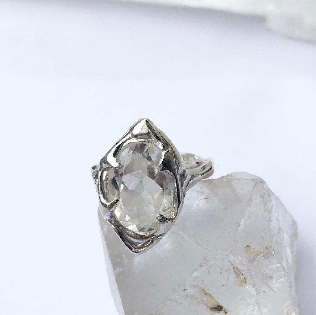 Quartz Queen ring- READY TO SHIP