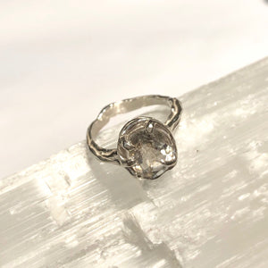 Quartz star ring