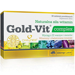 OLIMP LABS Gold-Vit Complex - 30 tablets - Natural Force of Vitamins