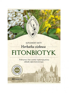 Herbal Tea - FITONBIOTYK - 40 sachets - Franciscan Herbs - Franciscan Monks - traditional old herbal recipe