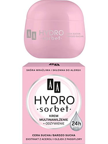 AA Hydro Sorbet Multi Moistrurizing and Nourishing Face Cream for Dry Skin 50ml