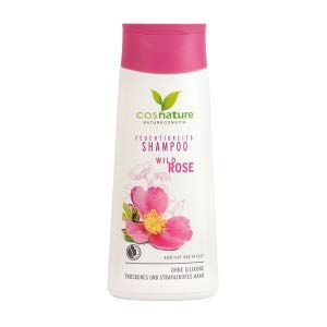 COSNATURE Natural Moisturizing Hair Shampoo With Wild Rose - 200 ml VEGAN