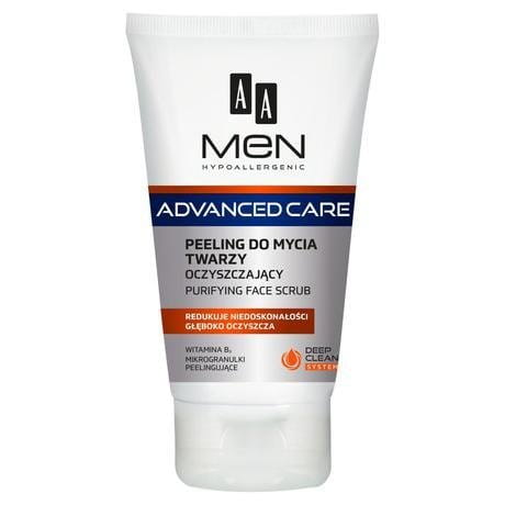AA MEN HYPOALLERGENIC Purifying Face Scrub 150ml / 5.1 fl.oz.