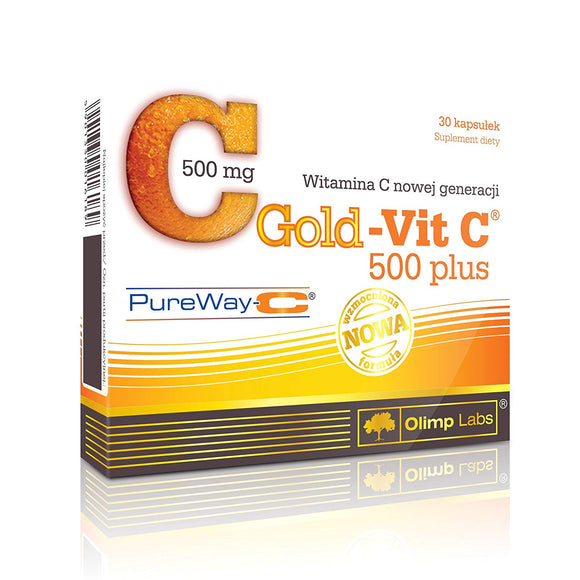 GOLD-VIT C 500 PLUS - 30 capsules by Olimp Labs