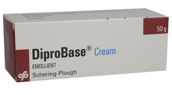 DIPROBASE cream - 50 g - a supportive during corticosteroid therapy, allergic and inflammatory skin diseases, as well as during remission of chronic skin diseases or acute inflammation of the skin