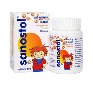 SANOSTOL - for children from 4 years of age - 60 lozenges